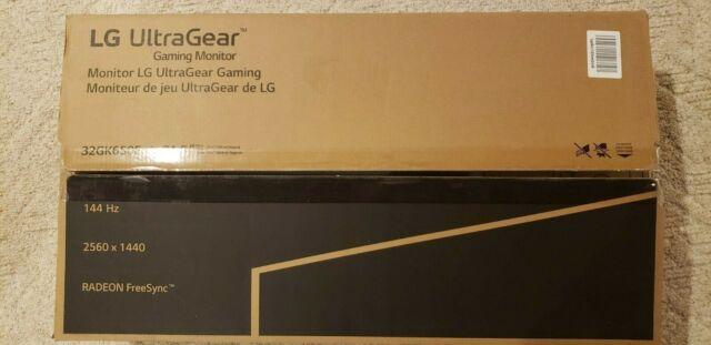 LG UltraGear 32GK650F-B 32 inch VA LCD Monitor IN BOX COMPLETE