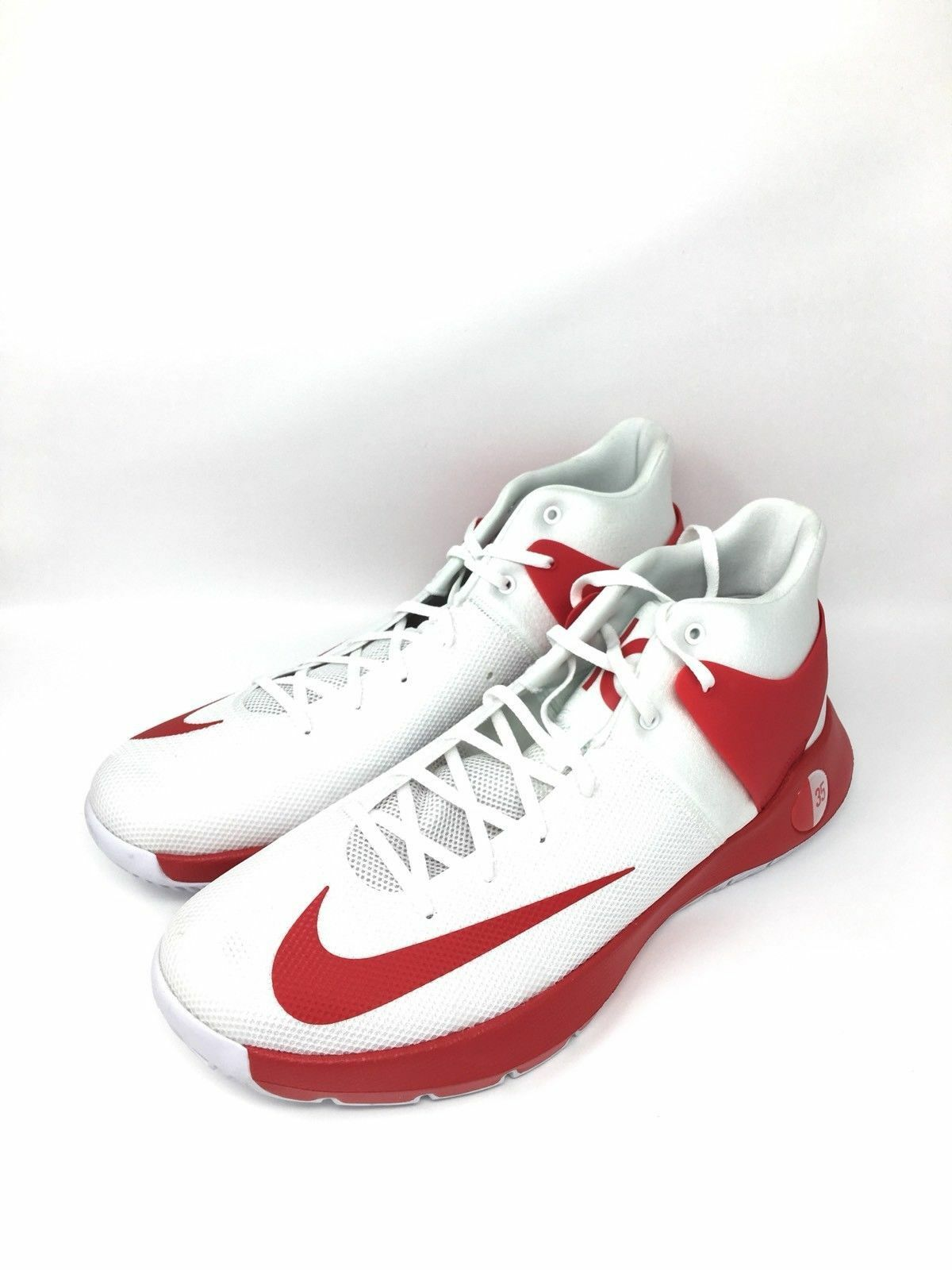 Nike KD Trey 5 Size 18 TB Basketball shoes White Red 856484-161 Rare Kevin Durant