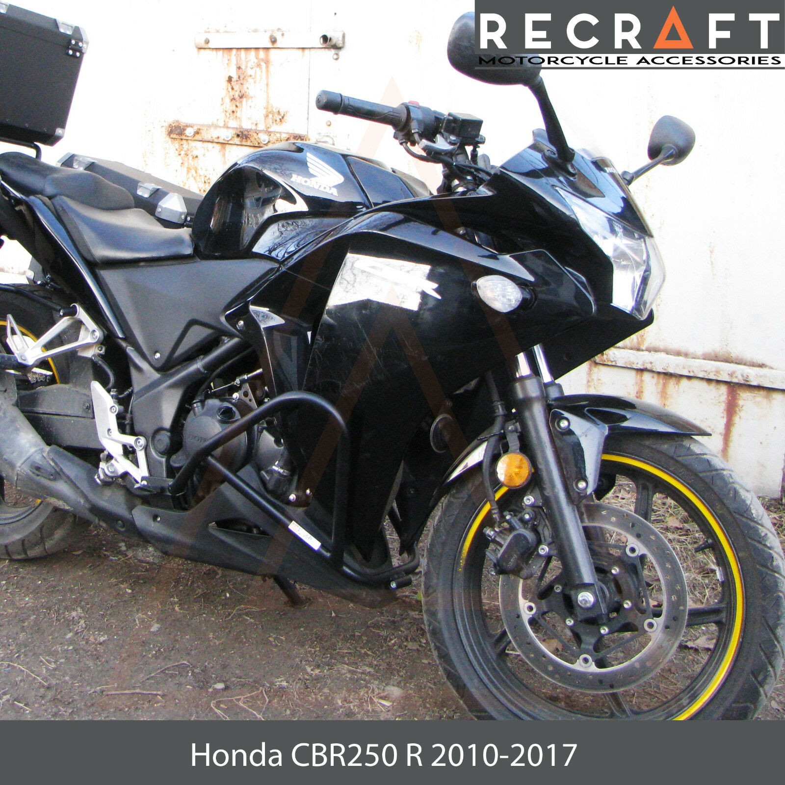 Recraft Honda CBR 250 R 2010-2017 Crash Bars Engine Guard Frame Protector