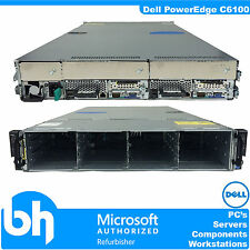 Dell PowerEdge C6100 Cloud Node Server 2U Xeon Quad Core E5506 2.13Ghz 24GB RAM