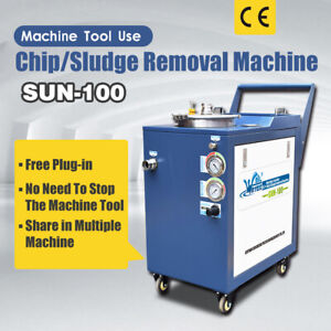 Machine Tool Use Chip Sludge Removal Machine for Lathe Grinding Sawing Machine