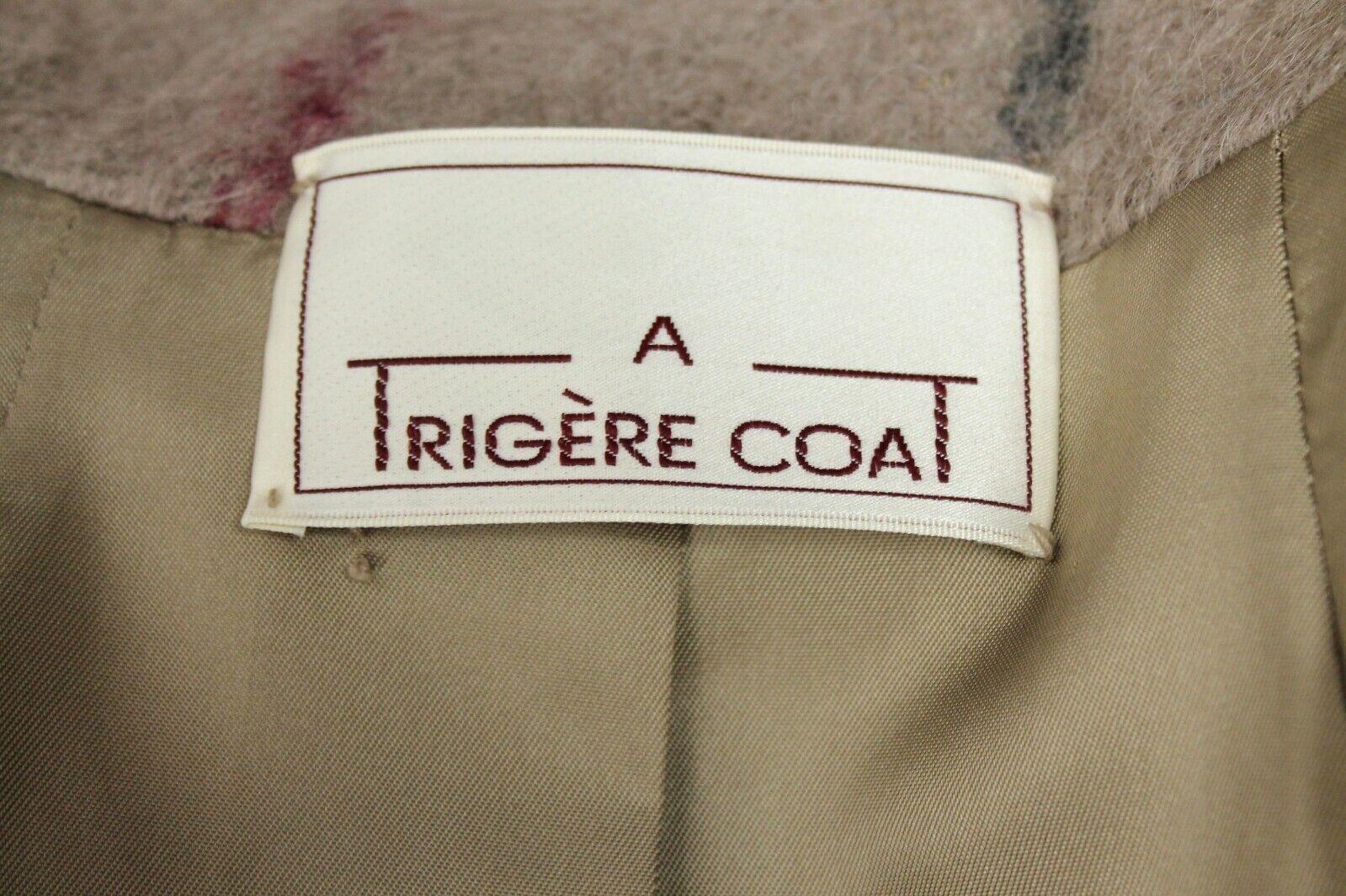 Designer Coat Sz 8 M Vintage 80s Pauline Trigere … - image 2