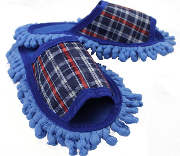 100% De Calidad Polvo Pañuelo Zapatillas De Casa Enlucido Zapatillas De Casa Zapatos Mop Sohele Mikrofasser Gr 40-43 R164-ver DesempeñO Confiable