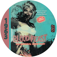 "Blood Feast (1963)  Classic Horr and Sci-Fi CULT ""B-Movie"" DVD"