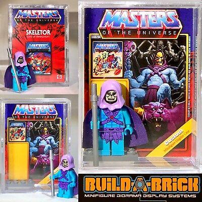 He-man Masters of the Universe Custom Mini Action Figure w Display Case /& Stand Mini-Fig 313 HEMAN