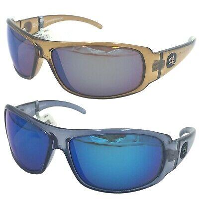 Salt Life Marathon Crystal Root Beer Sunglasses W// Copper Green Polarized Lens