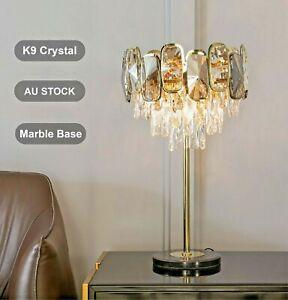 Crystal Table Lamps Floor Huge, Chandelier Bedside Lamps Australia