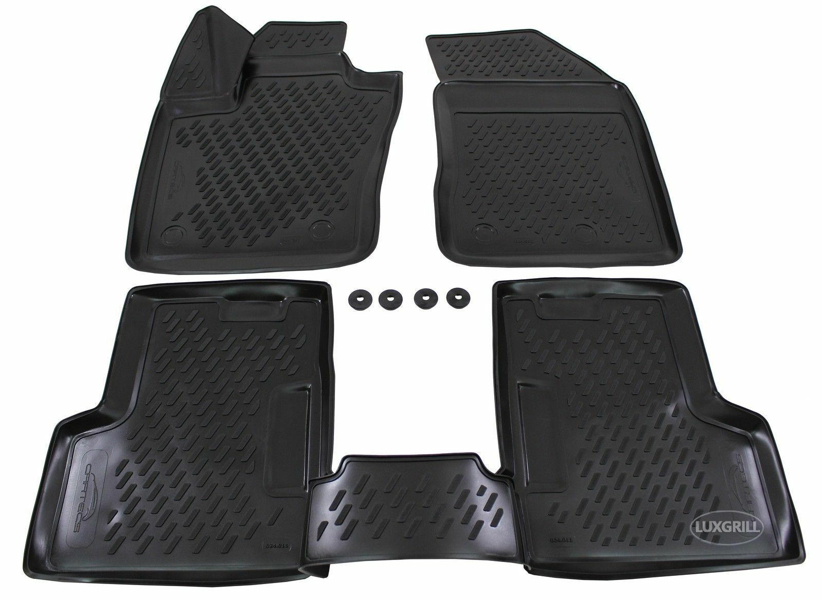 Tappetini Tappeti PRO LINE 3D Ford Fiesta VI 2008-2016 in gomma
