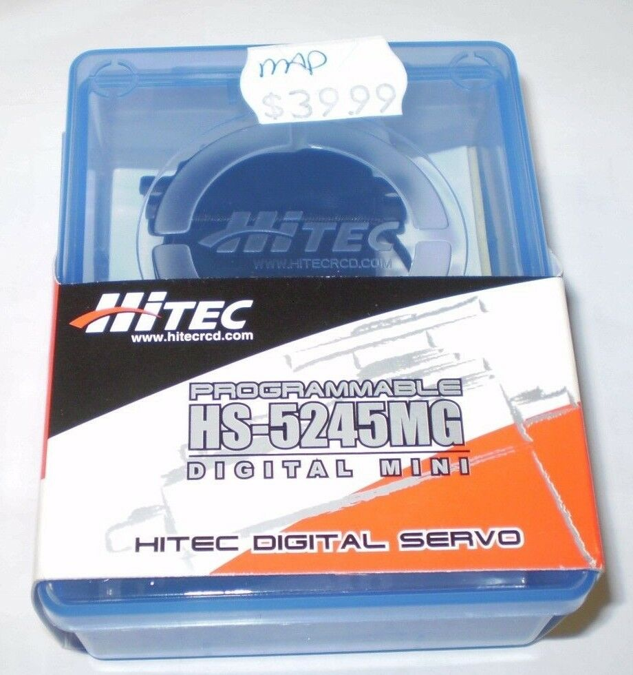 HITEC HS-5245MG MIGHTY MINI MG RC AIRPLANE SERVO HS5245MG HS5245 HS5245MG 5245