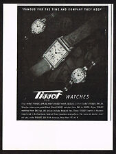 1940's Vintage 1948 Tissot Watch Co. Watches - Paper Print AD