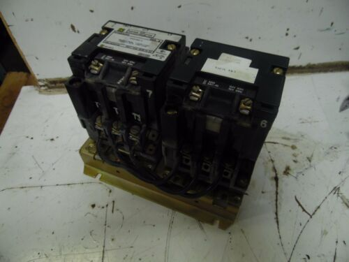 Square D Reversing Contactor, 8702SAO4S 8702 SAO 4S, 120V Coil, Used, WARRANTY