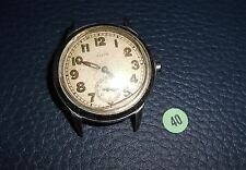 40)⌚ ELGIN 40er Vintage Military Watch WW II WK 2 US Army Parts Case Mouvement