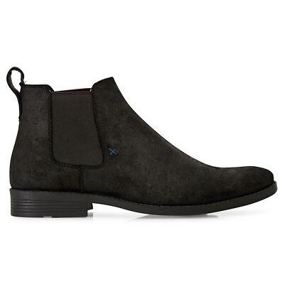 Windsor Smith Men's Palmer Leather Boot - Black/Oil Side