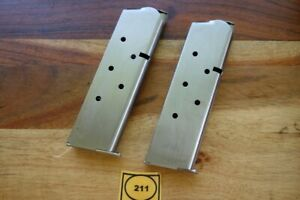 Colt-1911-1911A1-Magazine-Series-70-Stainless-Quantity-2-Great-Capacity-7