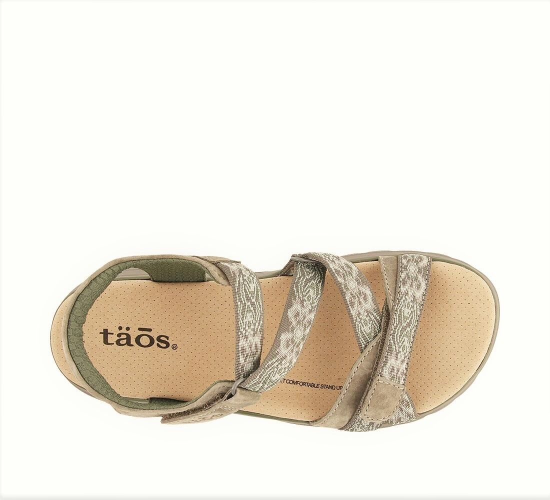 Taos Footwear Comfort footbed Walking leather Sandals Taos shoes shoes shoes Zen a19a71