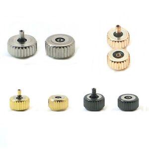 CORONA-acciaio-Orologio-3-5mm-4mm-4-5mm-5mm-5-5mm-6mm-6-5mm-7mm-testa-diametro-4-colore