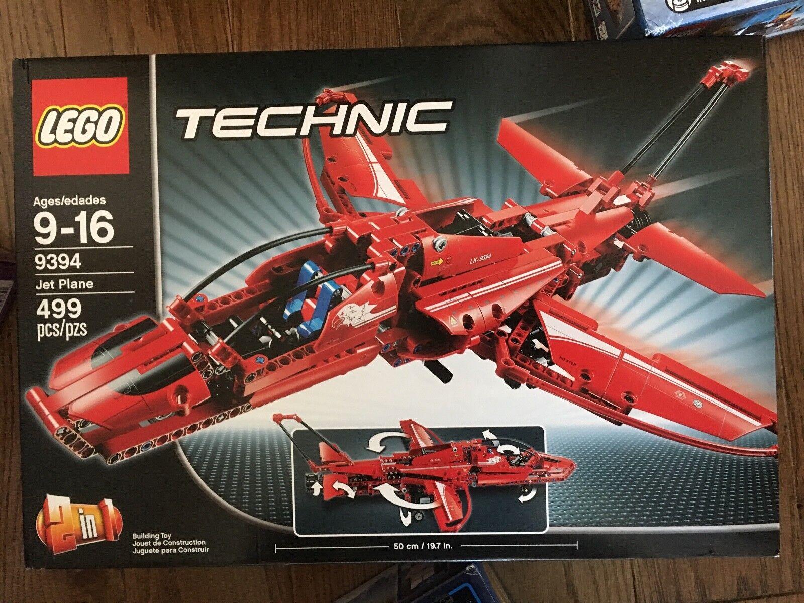 NEW & Sealed Lego (LEGO) Technique Jet Plane 9394 9394 9394 Age 9 - 16 485d56