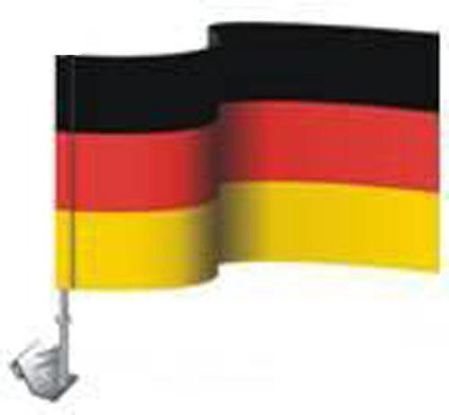20 x Auto Fahne Deutschland Autofahne Autoflagge Halterung  WM, 30x45cm