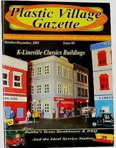 Plasticville CollectorsMaga<wbr/>zine Plastic Village Gazette