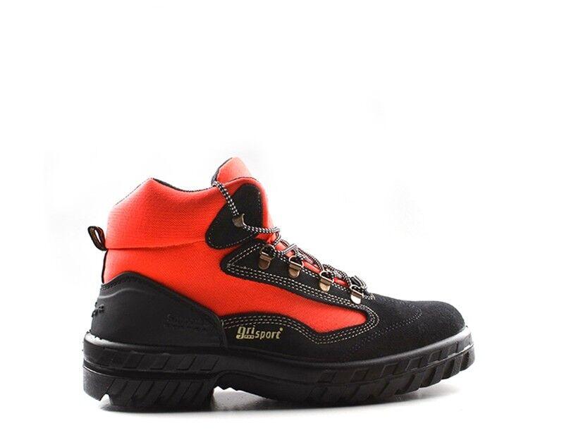 Zapatos grisPORT Hombre rojo negro Cuero natural,Tela GRI748.50