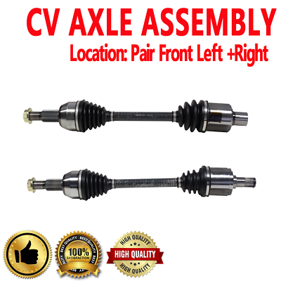 High Quality Axle Shaft V6 3.5L FRONT RIGHT CV Axle 1 PCS For 04-2007 SATURN VUE