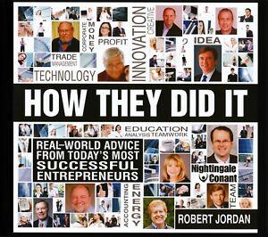 How-They-Did-It-Robert-Jordan-7CD-Audio-Includes-Workbook-CD