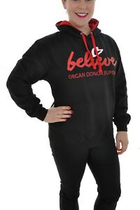 Adults-Hoodie-With-Believe-Logo-Various-Sizes-Believe-Organ-Donor-Support
