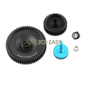 FOTGA Standard 65T & 38T 0.8 mod pitch gear for DP500II S 2S DP3000 Follow Focus