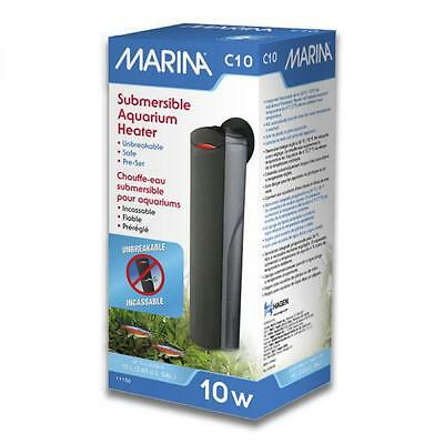 Marina Hagen C10 Compact Small Nano Fish Tank Tropical Aquarium Heater - 10w