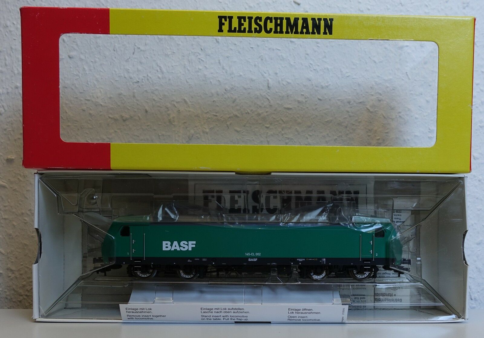 Fleischmann 80 4320 804320 br145-cl002 Elektrolok BASF OVP-h0-Top Condizione