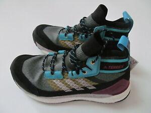 Adidas-Terrex-Free-Hiker-Boost-FV6818-man-blue-shoes-sz-8-Brand-New