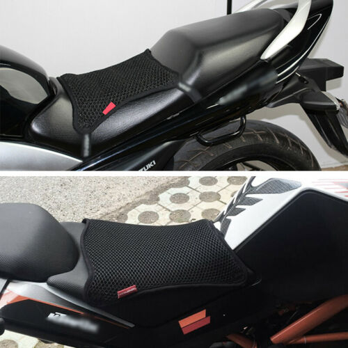 Motorcycle Breathable Cushion Seat Cover Net Anti-slip Heat Insulation Sleeve