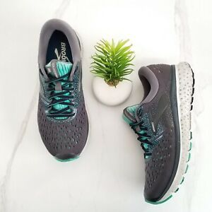 Brooks-Glycerin-16-Running-Shoes-Sneakers-Gray-Teal-Trainers-Women-039-s-Size-9-B