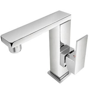 Wasserhahn für Waschtisch Armatur Waschbecken Bad Badarmatur ... | {Badarmaturen eckig 30}