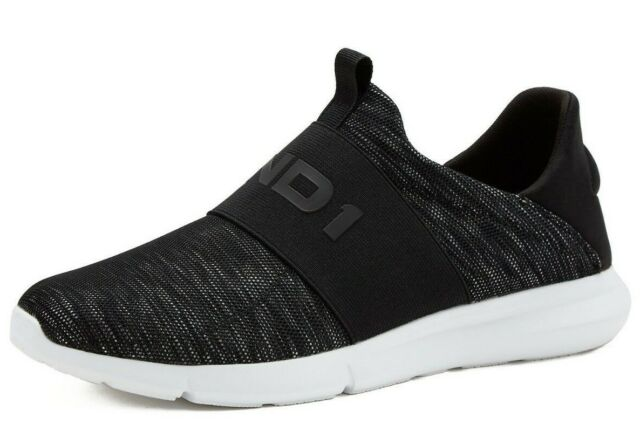 Mens And1 Athletic Casual Coach 2 0 Slip On Memory Foam Mesh Shoes Black  8-13