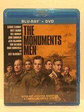 Monuments Men (Blu-ray Disc, 2014) George Clooney, Matt Damon, Bill Murray