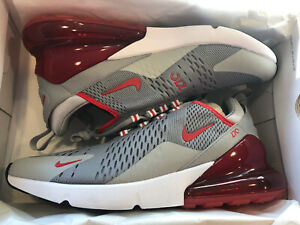 Details about NIB Nike Air Max 270 Men's Size 12 CW7048 001 Particle Grey  University Red