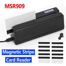 Msr909 Magnetic Stripe Card Reader Writer Encoder Credit Magstrip All 3 Tracks