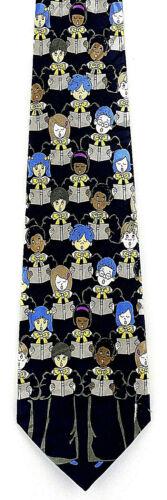 Childrens Choir Men/'s Neck Tie Religious Church Director Gift Blue Necktie