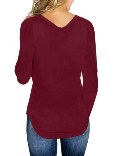 Women/'s V Neck Pullover Knitted Sweater Blouse Shirt Ladies Knitwear Tops Shirts