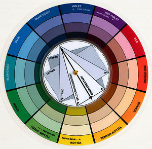 Pocket Color Wheel Artist Paint Mixing Guide High Quality Stylist