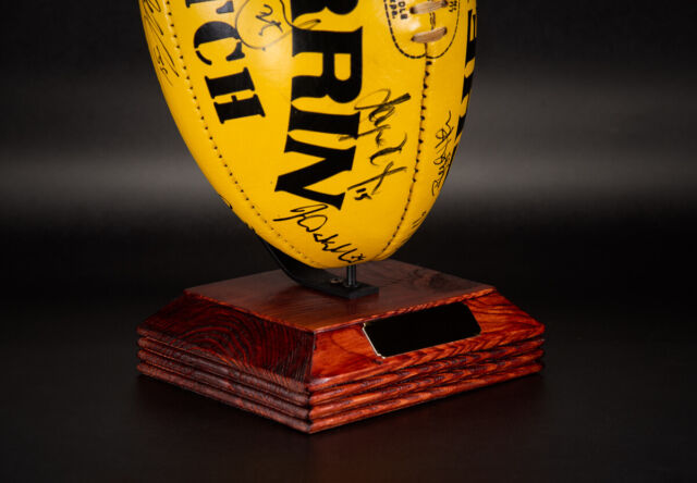 AFL / NRL FOOTBALL DISPLAY / TROPHY DISPLAY STAND