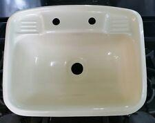 camper lavatory sink almond plastic