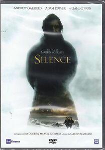 Dvd-SILENCE-di-Martin-Scorsese-con-Liam-Neeson-nuovo-2017