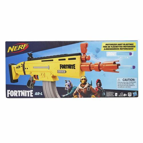 HASBRO Nerf fortnite AR-L motorizzato Toy Blaster incl 20 Freccette Elite