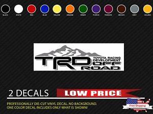Toyota TRD Truck Mountain OffRoad X Racing Tacoma Custom Decal - Custom vinyl stickers ebay