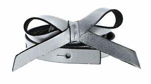 Vanzetti 15mm Belt W75 Gürtel Accessoire Silver Metallic Silber Neu