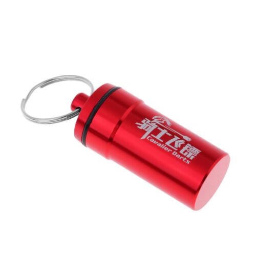 Aluminium tasche case box Wallet Aufbewahrung mit Schlüsselring