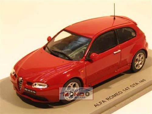 barato y de alta calidad ALFA ROMEO 147 147 147 GTA STRADALE rojo SP0485  auténtico