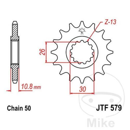 JT Front Sprocket 14T 530 Pitch JTF579.14 Yamaha FZS 1000 S Fazer 2003